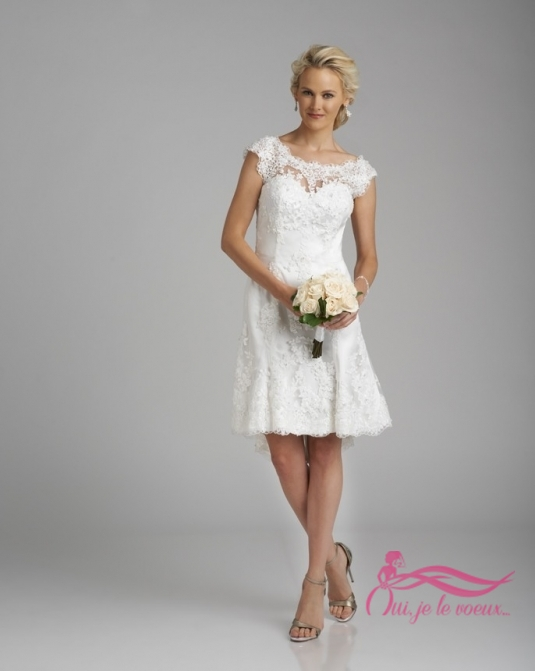 Wedding dress Lace, Lucienne