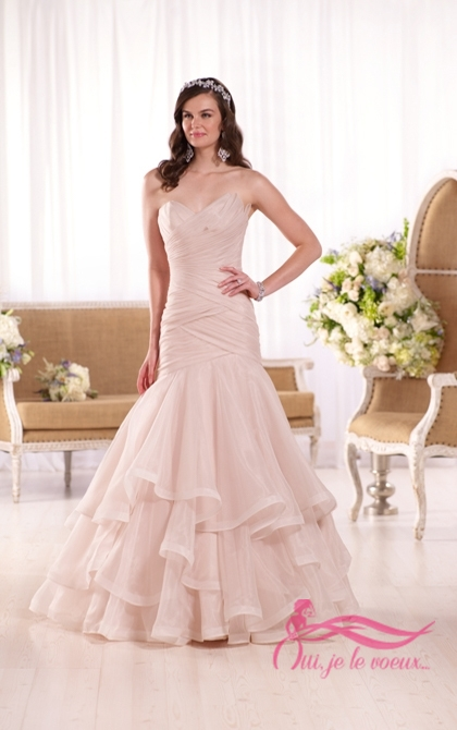 Wedding dress Organza, Piazzi