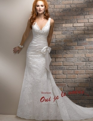 Wedding dress Romance Satin, Lace, Alaina