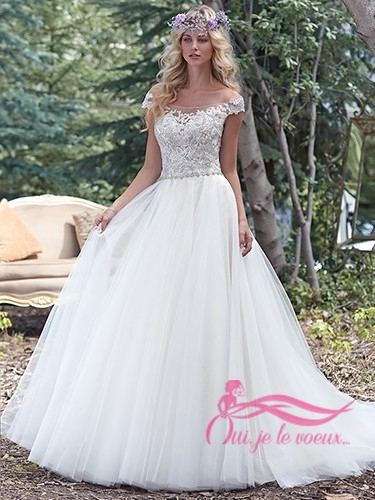 Wedding dress Lace, Tulle, Montgomery