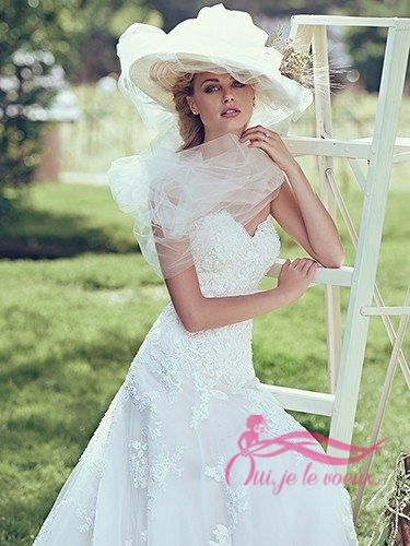 Wedding dress Lace, Tulle, Laverna