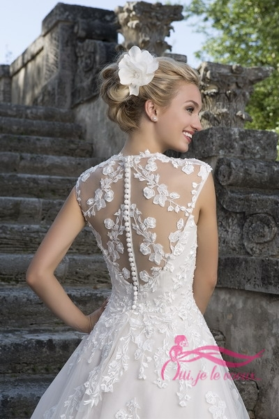 Wedding dress Lace, Tulle, Lilou