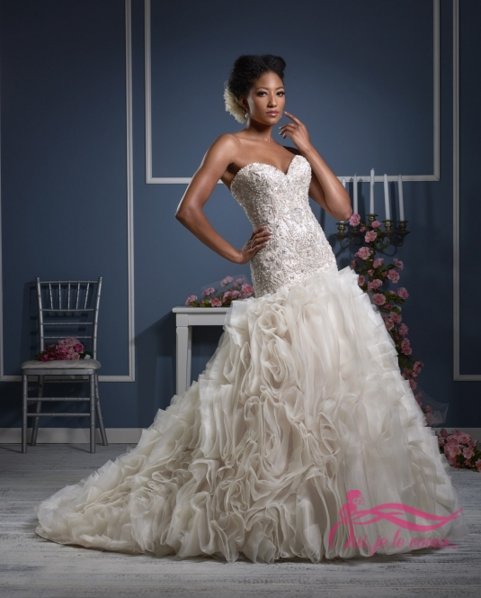 Wedding dress Organza, De Havilland