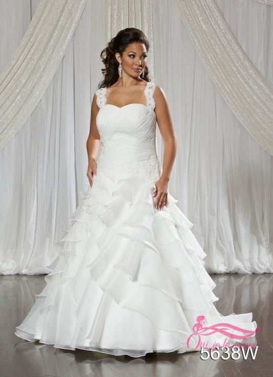 Wedding dress Organza, Nuance