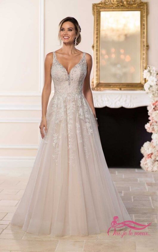Wedding dress Tulle, Lace, Karelle