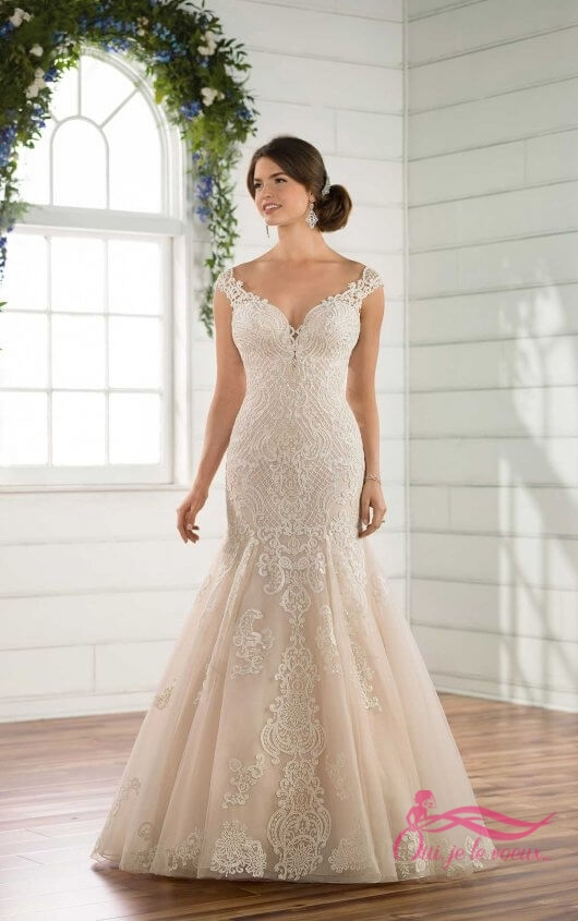 Wedding dress Tulle, Lace, Alissia