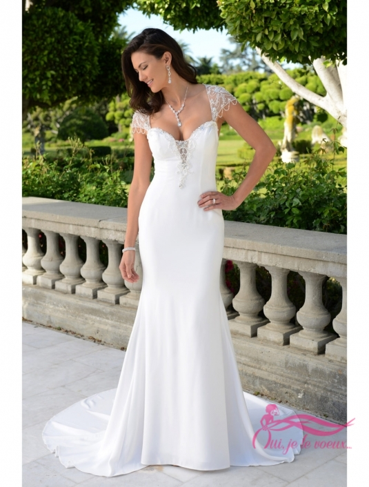 Wedding dress Satin, Mellony