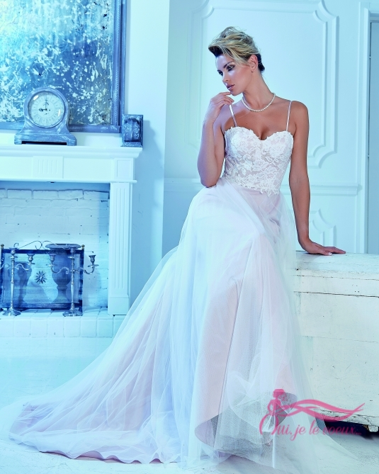 Wedding dress Tulle, Lace, Rosie