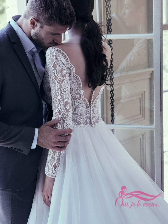 Wedding dress Tulle, Lace, Mallory Dawn