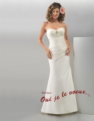 Wedding dress Silky Taffetas, Nellie