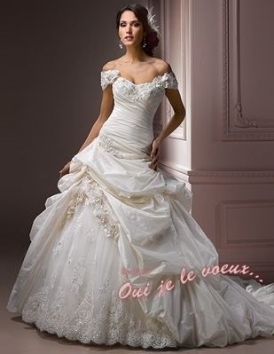 Wedding dress Taffetas, Decadence