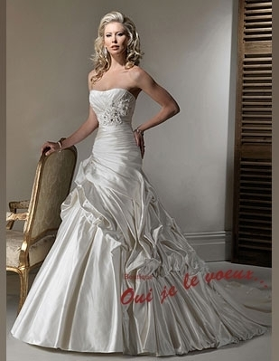 Wedding dress Satin, Saratoga