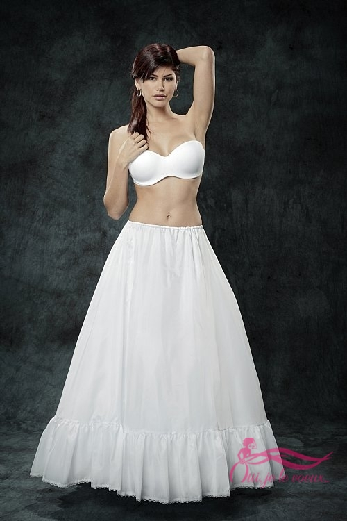 Wedding dress Crinoline regular fullness