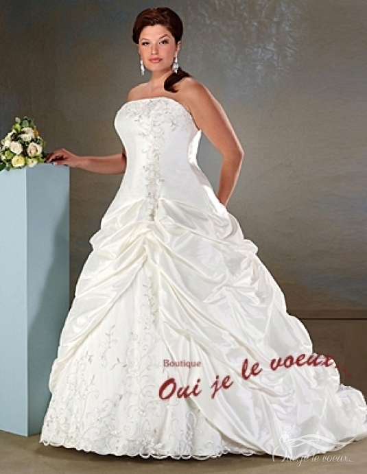 Wedding dress French Taffetas, Maribelle