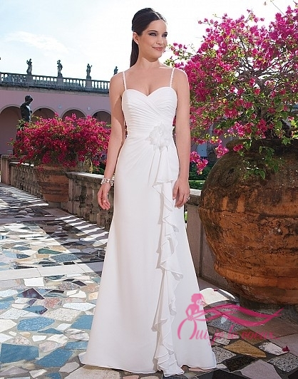 Wedding dress Chiffon, Ostende