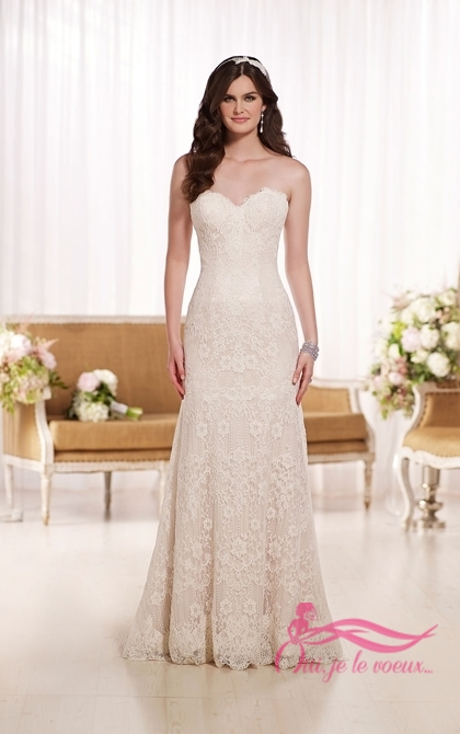 Wedding dress Lace, Tulle, Hedy