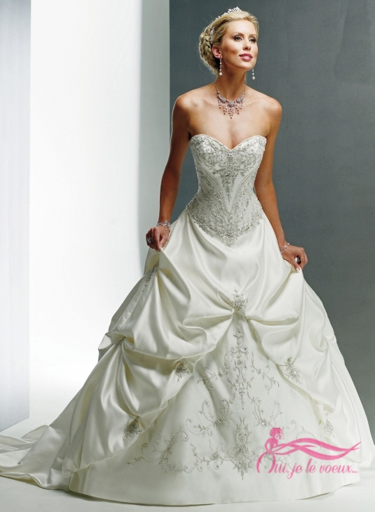 Wedding dress Satin, Monalisa Royale